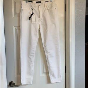 Brand new Banana Republic white Skinny jeans.